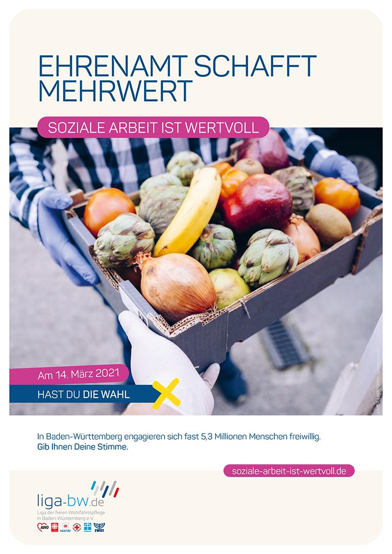 In Baden-Württemberg engagieren sich fast 5,3 Millionen Menschen freiwillig.