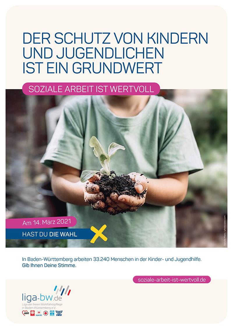 In Baden-Württemberg arbeiten 33.240 Menschen in der Kinder- und Jugendhilfe.