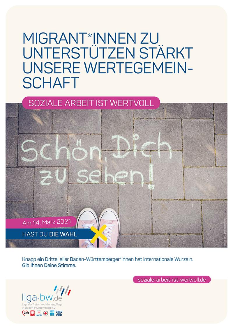 Knapp ein Drittel aller Baden-Württemberger*innen hat internationale Wurzeln.