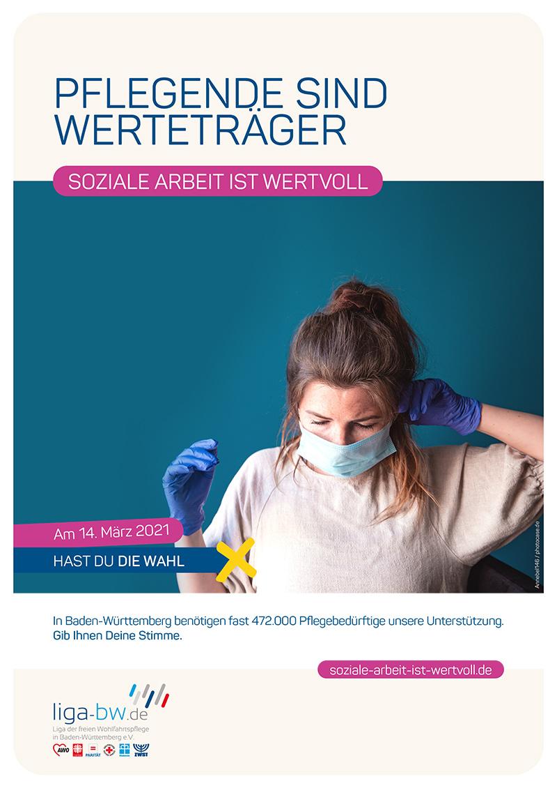 In Baden-Württemberg benötigen fast 472.000 Pflegebedürftige unsere Unterstützung.